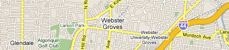 CJ Muggs Map of Webster Groves